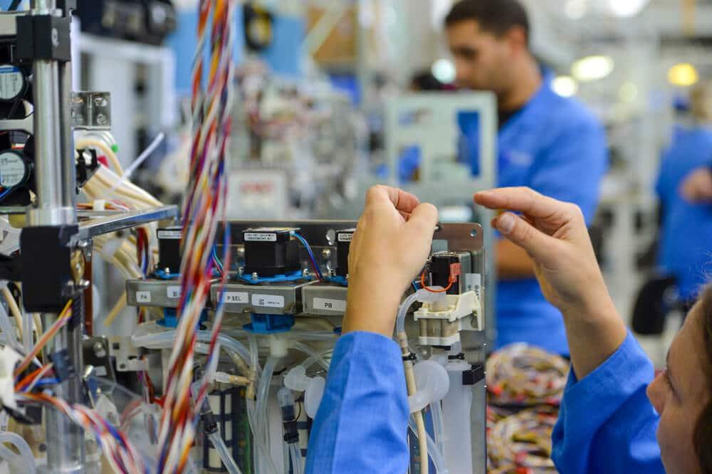 Medical device assembly